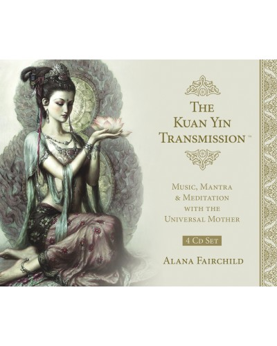 The Kuan Yin Transmission CD Set at Tree of Life Journeys, Reconnect with Yourself - Meditation, Law of Attraction, Spiritual Products