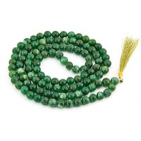 Green Aventurine Prayer Bead Mala