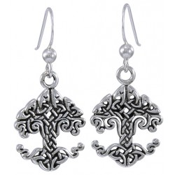 Celtic Tree of Life Sterling Silver Earrings Tree of Life Journeys Reconnect with Yourself - Meditation, Law of Attraction, Spiritual Products