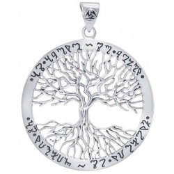 Wiccan Tree of Life Rune Pendant Tree of Life Journeys Reconnect with Yourself - Meditation, Law of Attraction, Spiritual Products