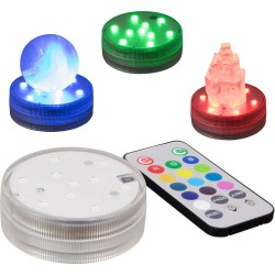 LED Waterproof Light Base with Remote Tree of Life Journeys Reconnect with Yourself - Meditation, Law of Attraction, Spiritual Products