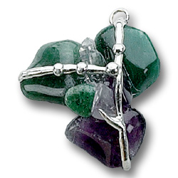 Healing Gemstone Amulet Tree of Life Journeys Reconnect with Yourself - Meditation, Law of Attraction, Spiritual Products