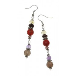 Cho-Ku-Rei Reiki Gemstone Earrings Tree of Life Journeys Reconnect with Yourself - Meditation, Law of Attraction, Spiritual Products