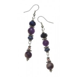 Dai-Ko-Myo Reiki Gemstone Earrings Tree of Life Journeys Reconnect with Yourself - Meditation, Law of Attraction, Spiritual Products