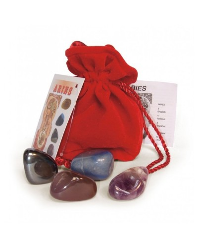 Aries Astrological Crystal Talismans at Tree of Life Journeys, Reconnect with Yourself - Meditation, Law of Attraction, Spiritual Products