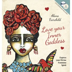 Love Your Inner Goddess Book and CD Set Tree of Life Journeys Reconnect with Yourself - Meditation, Law of Attraction, Spiritual Products