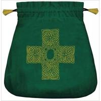 Celtic Cross Velvet Bag