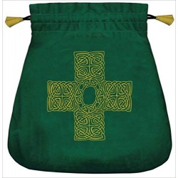 Celtic Cross Velvet Bag Tree of Life Journeys Reconnect with Yourself - Meditation, Law of Attraction, Spiritual Products