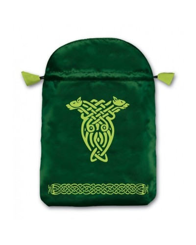 Celtic Satin Bag at Tree of Life Journeys, Reconnect with Yourself - Meditation, Law of Attraction, Spiritual Products