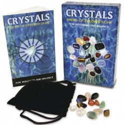 Crystals - Drops of Light Gemstone Kit Tree of Life Journeys Reconnect with Yourself - Meditation, Law of Attraction, Spiritual Products