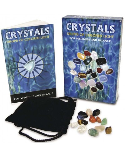 Crystals - Drops of Light Gemstone Kit at Tree of Life Journeys, Reconnect with Yourself - Meditation, Law of Attraction, Spiritual Products