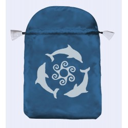 Dolphins Tarot Bag Tree of Life Journeys Reconnect with Yourself - Meditation, Law of Attraction, Spiritual Products