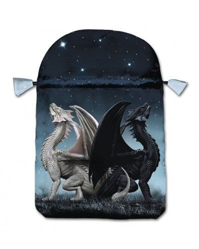Draconis Satin Bag at Tree of Life Journeys, Reconnect with Yourself - Meditation, Law of Attraction, Spiritual Products