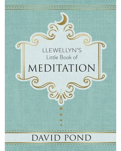 Llewellyn's Little Book of Meditation at Tree of Life Journeys, Reconnect with Yourself - Meditation, Law of Attraction, Spiritual Products