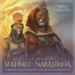 Meditations with Sekhmet and Narasimha CD Tree of Life Journeys Reconnect with Yourself - Meditation, Law of Attraction, Spiritual Products