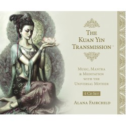 The Kuan Yin Transmission CD Set Tree of Life Journeys Reconnect with Yourself - Meditation, Law of Attraction, Spiritual Products