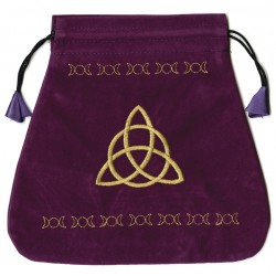 Triple Goddess Velvet Bag Tree of Life Journeys Reconnect with Yourself - Meditation, Law of Attraction, Spiritual Products
