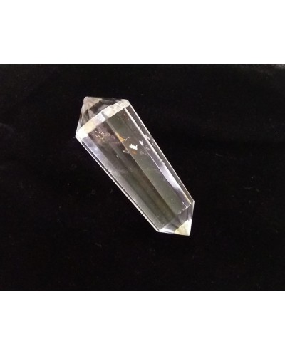Vogel 12 Facet Clear Quartz Crystal for Activation  at Tree of Life Journeys, Reconnect with Yourself - Meditation, Law of Attraction, Spiritual Products