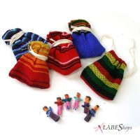 Worry Dolls Handmade Mini Set