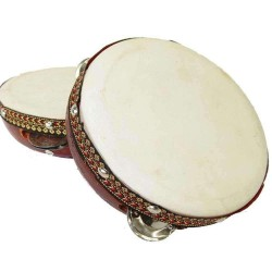 Tambourine Drum 6 Inches Tree of Life Journeys Reconnect with Yourself - Meditation, Law of Attraction, Spiritual Products