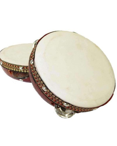 Tambourine Drum 6 Inches at Tree of Life Journeys, Reconnect with Yourself - Meditation, Law of Attraction, Spiritual Products