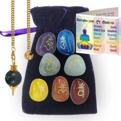 Chakra Energizing Kit Tree of Life Journeys Reconnect with Yourself - Meditation, Law of Attraction, Spiritual Products