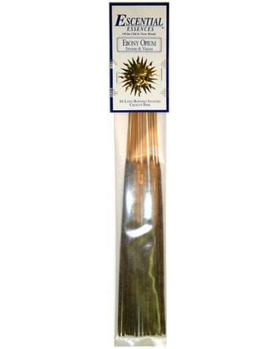 Ebony Opium Escential Essences Incense at Tree of Life Journeys, Reconnect with Yourself - Meditation, Law of Attraction, Spiritual Products