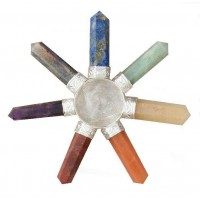 7 Chakra Crystal Energy Generator