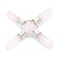 Rose Quartz Crystal Energy Generator