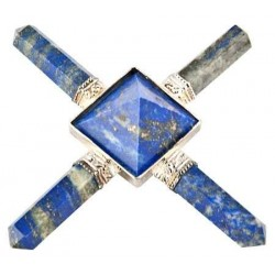 Lapis Lazuli Crystal Energy Generator Tree of Life Journeys Reconnect with Yourself - Meditation, Law of Attraction, Spiritual Products
