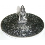 Buddha Metal Incense Burner at Tree of Life Journeys, Reconnect with Yourself - Meditation, Law of Attraction, Spiritual Products