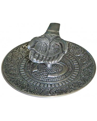 Offering Hands Metal Incense Burner at Tree of Life Journeys, Reconnect with Yourself - Meditation, Law of Attraction, Spiritual Products
