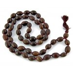 Natural Lotus Seed 54 Bead Prayer Mala at Tree of Life Journeys, Reconnect with Yourself - Meditation, Law of Attraction, Spiritual Products
