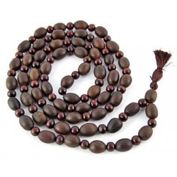 Natural Lotus Seed and Sandalwood Prayer Mala Tree of Life Journeys Reconnect with Yourself - Meditation, Law of Attraction, Spiritual Products