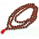 Rudraksha 16 MM Prayer Bead Mala at Tree of Life Journeys, Reconnect with Yourself - Meditation, Law of Attraction, Spiritual Products