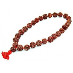 Rudraksha 27 Bead Prayer Mala Tree of Life Journeys Reconnect with Yourself - Meditation, Law of Attraction, Spiritual Products