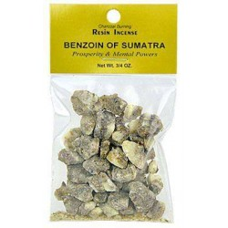 Benzoin of Sumatra Resin Incense Tree of Life Journeys Reconnect with Yourself - Meditation, Law of Attraction, Spiritual Products