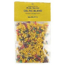 Celtic Blend Resin Incense Tree of Life Journeys Reconnect with Yourself - Meditation, Law of Attraction, Spiritual Products