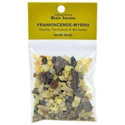 Frankincense and Myrrh Resin Incense Blend Tree of Life Journeys Reconnect with Yourself - Meditation, Law of Attraction, Spiritual Products