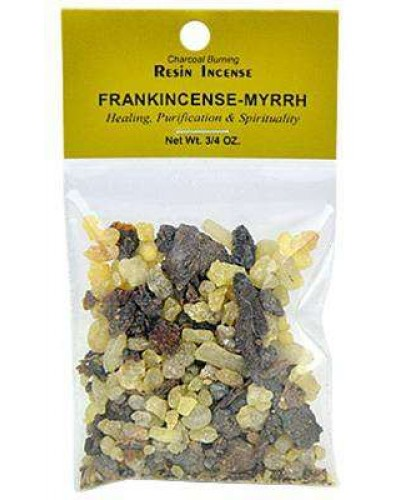 Frankincense and Myrrh Resin Incense Blend at Tree of Life Journeys, Reconnect with Yourself - Meditation, Law of Attraction, Spiritual Products
