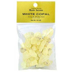 Copal White Resin Incense Tree of Life Journeys Reconnect with Yourself - Meditation, Law of Attraction, Spiritual Products