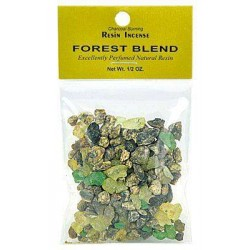Forest Blend Resin Incense Tree of Life Journeys Reconnect with Yourself - Meditation, Law of Attraction, Spiritual Products