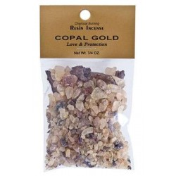 Copal Gold Resin Incense Tree of Life Journeys Reconnect with Yourself - Meditation, Law of Attraction, Spiritual Products