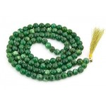 Green Aventurine Prayer Bead Mala at Tree of Life Journeys, Reconnect with Yourself - Meditation, Law of Attraction, Spiritual Products