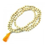 Tulasi Prayer Mala 10mm Beads at Tree of Life Journeys, Reconnect with Yourself - Meditation, Law of Attraction, Spiritual Products