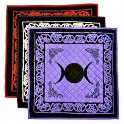 Triple Moon Cotton Meditation Mats - 3 Assorted Colors