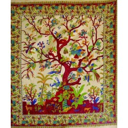 Tree of Life Double Tapestry Tree of Life Journeys Reconnect with Yourself - Meditation, Law of Attraction, Spiritual Products