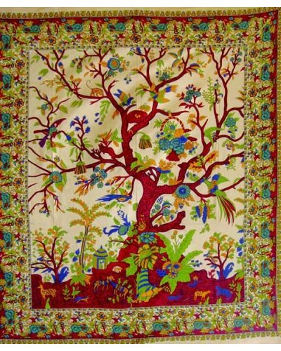Tree of Life Double Tapestry at Tree of Life Journeys, Reconnect with Yourself - Meditation, Law of Attraction, Spiritual Products