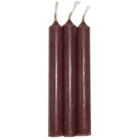 Brown Mini Taper Spell Candles