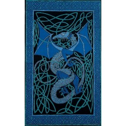 Celtic English Dragon Tapestry - Twin Size Blue Tree of Life Journeys Reconnect with Yourself - Meditation, Law of Attraction, Spiritual Products